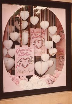 My Own Display Work: Oval Mothers Day Window