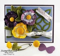 pansy butterfly punch