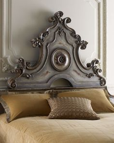"""The incredible """"Katya"""" Headboards at Horchow / #furniture #design #bedroom"""