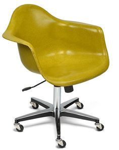 Case Study Rolling Base Arm Shell Chair Task Chair by Modernica at www.Accurato.us