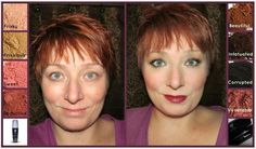 Younique Before and After picture!!! Browse my site: Www.youniqueproducts.com/PamKey