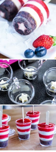 These look fun and yummy.  What a great treat for the Fourth of July.