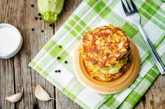 If you're pressed for time, these Sweet Corn, Zucchini and Ricotta Fritters are quick to make, healthy and simply delicious! They're also an ideal meal for breakfast, work lunches and even picnics :) Ingredients (makes 12 fritters):125ml (½ cup) low fat milk3 large eggs50g (½ cup) chickpea flour or brown rice flour300g (2 cups) corn kernels2 medium zucchinis, coarsely grated and squeezed of extra moisture1 garlic clove, crushed125g (½ cup) fresh reduced-fat ricotta, crumbled2 tbsp chopped…
