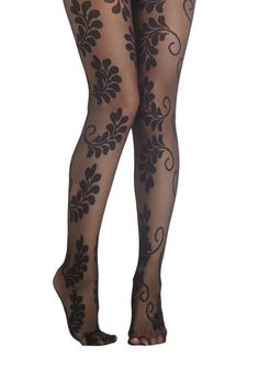 Steampunk Tights - Conversation Centerpiece Tights from ModCloth $17.99   #steampunk #tights