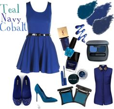 Fall 2012 Colors: Teal/Navy/Cobalt