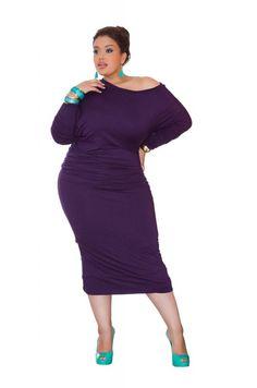 Plus Size Pick: Curvy Azelya Dress From Curvezz | Plus Size Blog and Magazine - DailyVenusDiva.com