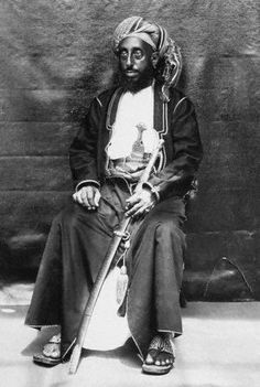 Tippu Tip, (1837-1905, Zanzibar) - the most successful slave trader in East-Africa inspired Conrad in The Heart of Darkness.