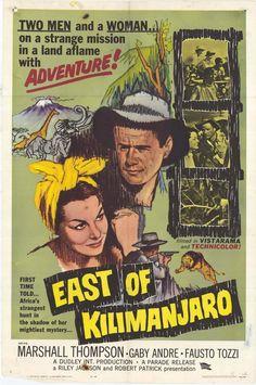 East of Kilimanjaro Movie Poster