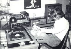 """Your dad was a DJ before you were and he had the FM time slot to prove it. Vocally gifted, he articulated seduction across airwaves in-between hand-selecting the perfect tracks to give his listening audience sonic eargasms. He couldn't speak in public because his voice was a celebrity on the streets. And, when he went off the air, his station's radio dial number had to be retired.  So hipsters, next time you're """"spinning"""" off your Macbook Pro and trying to get the party hyped with your…"""