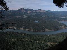 ruckle ruckel ridge trail loop hike oregon