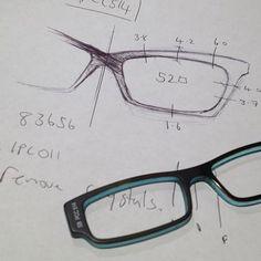 TD Tom Davies design for my newest pair of his bespoke eyewear