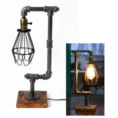 Get a great industrial vintage look for less!