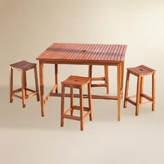 One of my favorite discoveries at WorldMarket.com: Cori Outdoor Bar Collection
