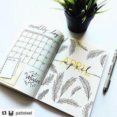 """2,691 Likes, 5 Comments - LauraDC  (@bulletjournalers) on Instagram: """"Gorgeous and simple! Credit to @patisteel"""""""