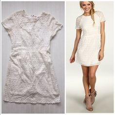"Free People Candy white lace dress sz 2 Item: Free People candy ivory lace dress. Stunning!!!!! Size: 2 Measurements: bust 16""across waist 12"" across length 32"" Free People Dresses Mini"