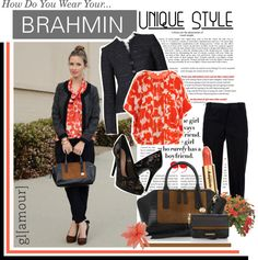 """""""How do you wear your Brahmin?: Unique Style"""" by catbulsara on Polyvore"""