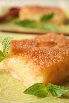 Algerian khobz el dar semolina bread recipe kalb el louz algerian dessert algerian recipesalgerian foodarabic forumfinder Image collections