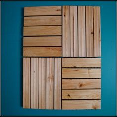 Deck Tile, Wood Grain, Decks, Tile Floor, Outdoor Decking, Tiles, Flooring, Rustic, Wall