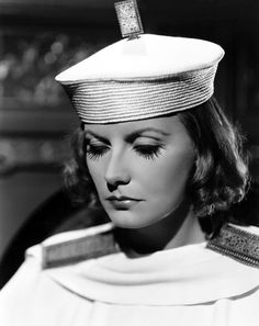 """Greta Garbo en """"El velo pintado"""", 1934"""