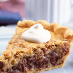 """Nestle """"Toll House"""" Chocolate Chip Pie- Probably not nearly as good as the Colgate Inn, but worth a try?"""