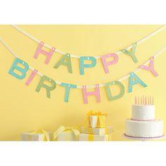 Happy Birthday Banner - Martha Stewart shoptomkat.com