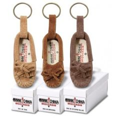 Mini Moccasin Keychain - Assorted Colors