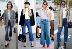 Spring Trend Report: Are Cropped Flare Jeans The Next Big Thing?: Will You Embrace The Next Big Denim Trend?
