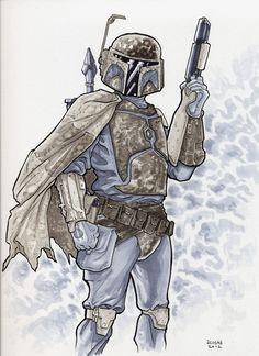 Boba Fett - Star Wars - Dave Acosta