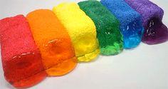 Ridiculous rainbow slime