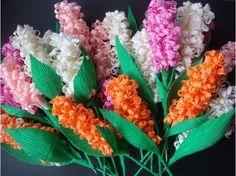 Hướng dẫn làm hoa bằng giấy nhún đẹp mắt