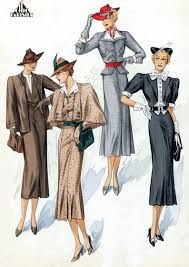 1930s fashion men and women - Google Search