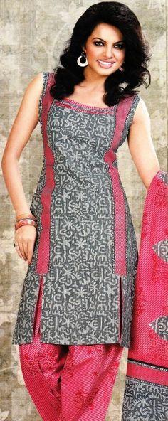 Dress Material Cotton Designer Prints Unstitched Salwar Kameez Suit D.No 9144