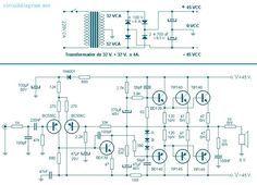 33 best pcb power ampli images on pinterest circuit diagram rh pinterest com