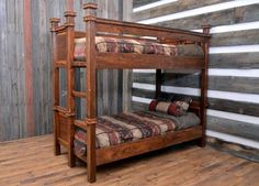 Bunk beds are a great option for small bedrooms as it saves on floor space. ... design can be modified easily for twin over queen bunk beds as well. ... A quirky L-shape could give a quirky dimension to your bedroom décor.