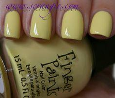 finger paints - lemon sour