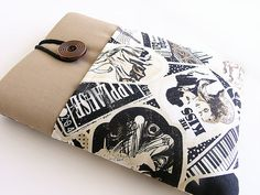 Kindle Case, Kindle cover, Nook cover, Google Nexus 7 cover, Kindle sleeve, Kobo cover--Vintage.