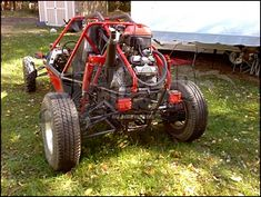 Go Kart Buggy, Off Road Buggy, Carros Off Road, Kart Cross, 67 Nova, Homemade Go Kart, Reverse Trike, Best Build, 4x4