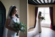 Ciara looking elegant for her wedding at Kinnitty Castle. A real wedding by Couple Photography Wedding Ceremony, Wedding Day, Magical Wedding, Down Hairstyles, Looking Stunning, House Party, Couple Photography, Real Weddings