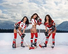 2017 - Vancouver - Swimsuit and Calendar - Photographer - Erich Saide - Calender - Sports Illustrated - Banff - Hockey