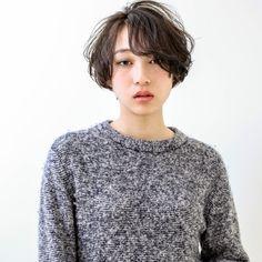 【丸顔さんに似合う髪型】ひし形シルエットの小顔効果でより可愛く♡ | HAIR