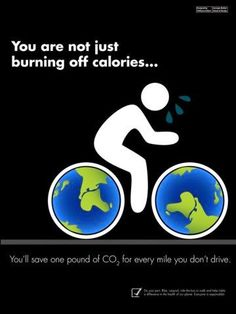 Here at CGV our favourite way of transport is cycling. #DidYouKnow you save one pound of CO2 for every mile you don't drive?