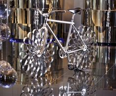 Incredible Bicycle Made Out Of Sprung Steel