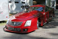 Dina Parise Reveals Sleek And Stylish New Cadillac CTS-V Pro Mod - Dragzine