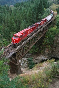 By Train, Train Tracks, Train Rides, British Columbia, Canadian Pacific Railway, Canadian National Railway, Old Trains, Train Pictures, Train Engines
