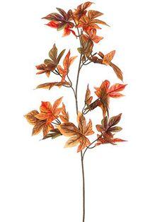 Get silk fall leaves