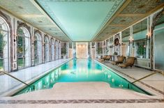 7 Indoor Pools You'll Want To Dive Into Immediately - ELLEDecor.com