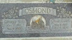 donny and marie osmonds parents Cemetery Headstones, Cemetery Art, The Osmonds, Lay Me Down, Famous Graves, Marie Osmond, Momento Mori, Famous Stars, Aretha Franklin