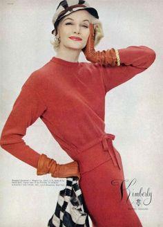 Kimberly 1957, Sunny Harnett - photo by Richard Avedon