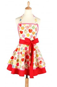 Apple Apron from Madame Choup