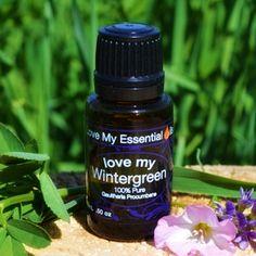 """Love My Wintergreen"" 100% Pure Essential Oil"